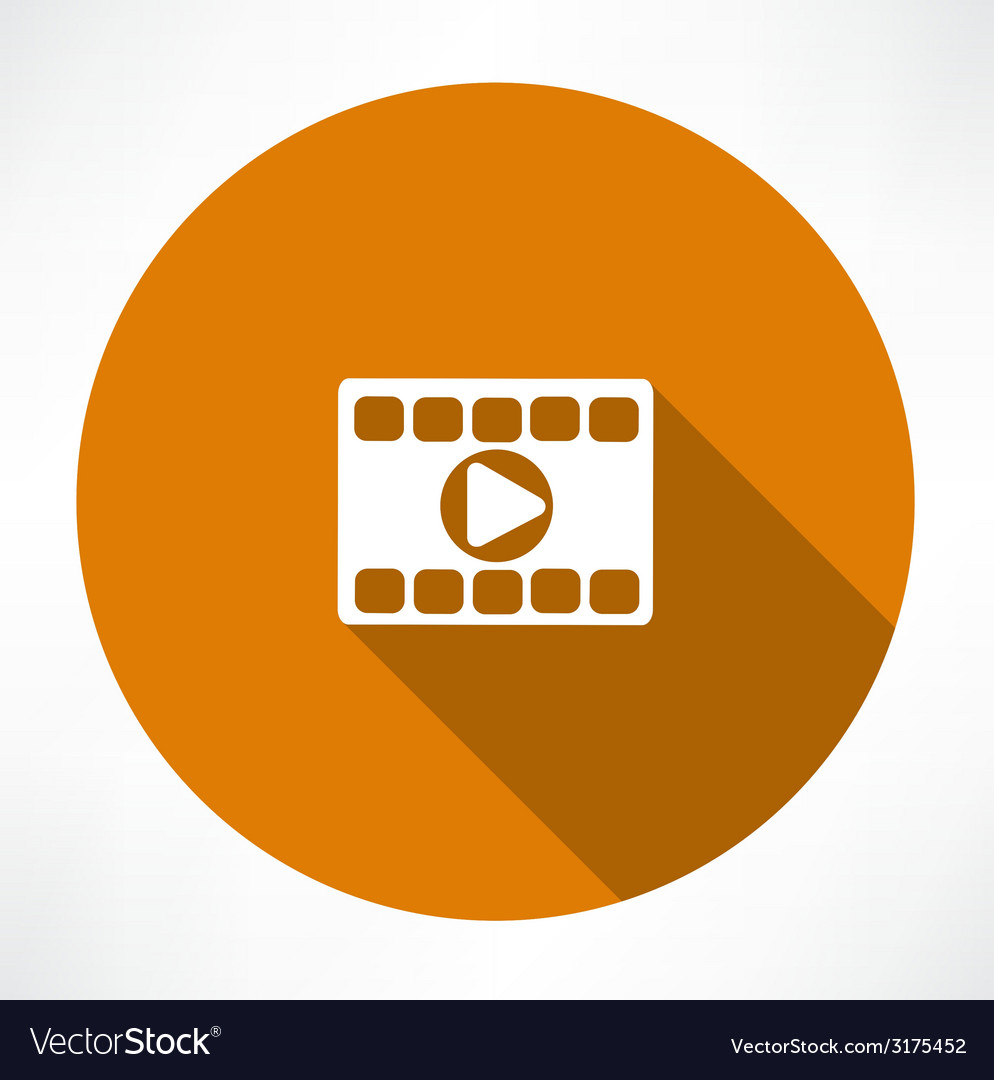 Play video icon vector | Price: 1 Credit (USD $1)
