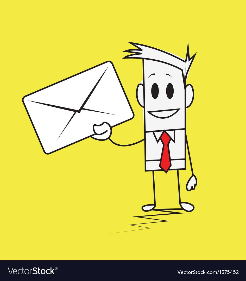 Square guy-envelope vector   Price: 1 Credit (USD $1)