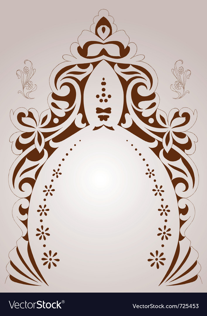 Design set with various shapes and de vector | Price: 1 Credit (USD $1)
