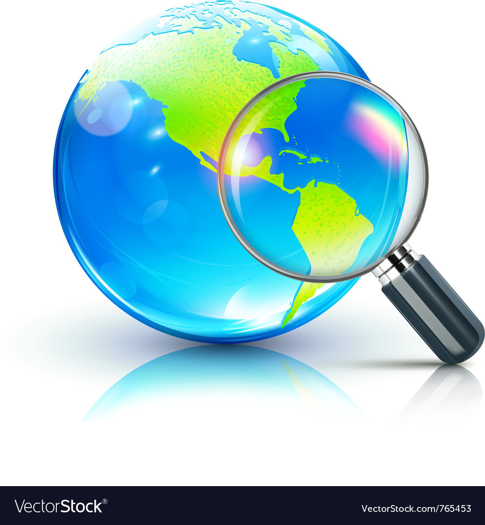 Global search concept vector | Price: 3 Credit (USD $3)