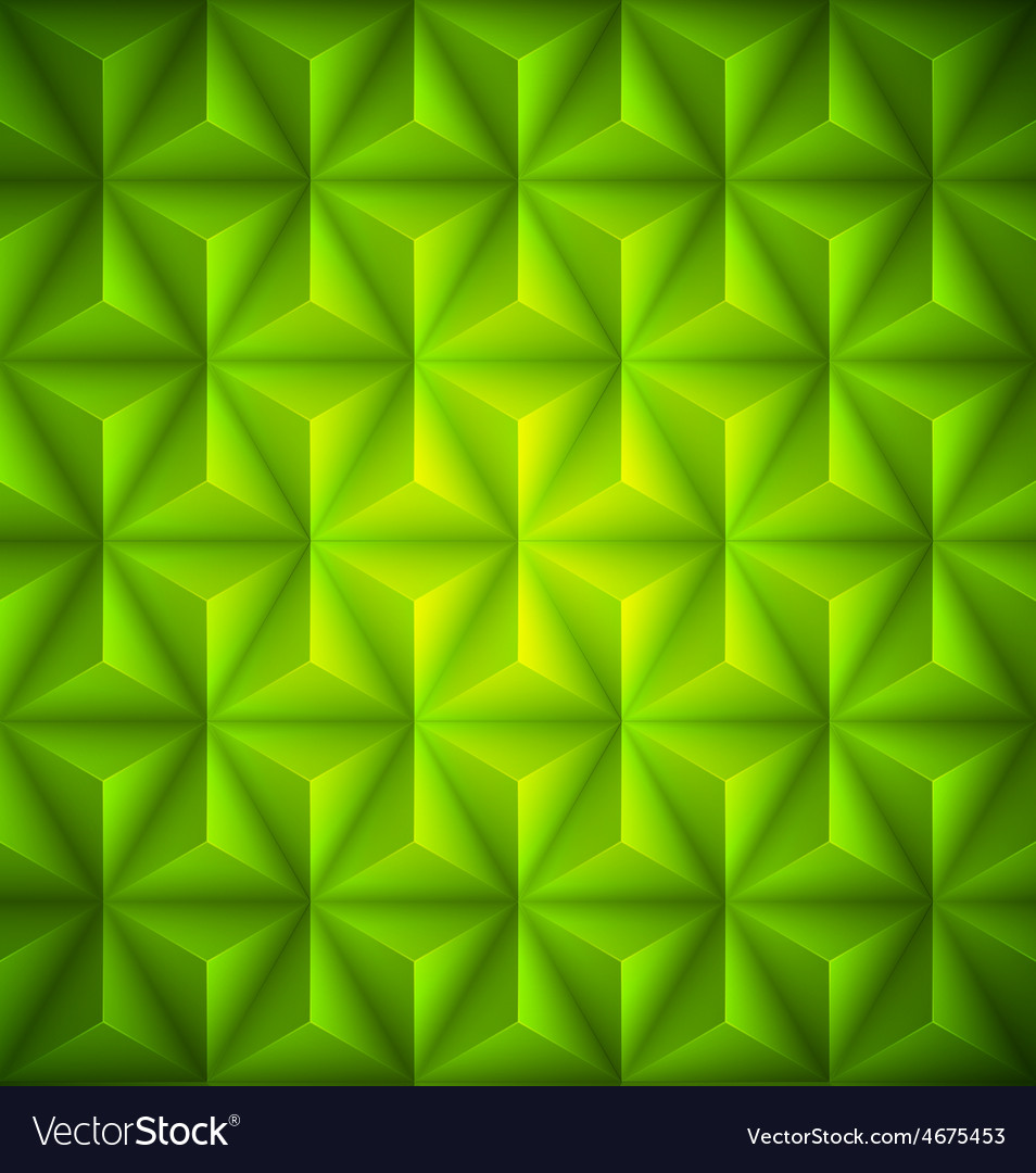 Green geometric abstract low-poly paper background vector | Price: 1 Credit (USD $1)