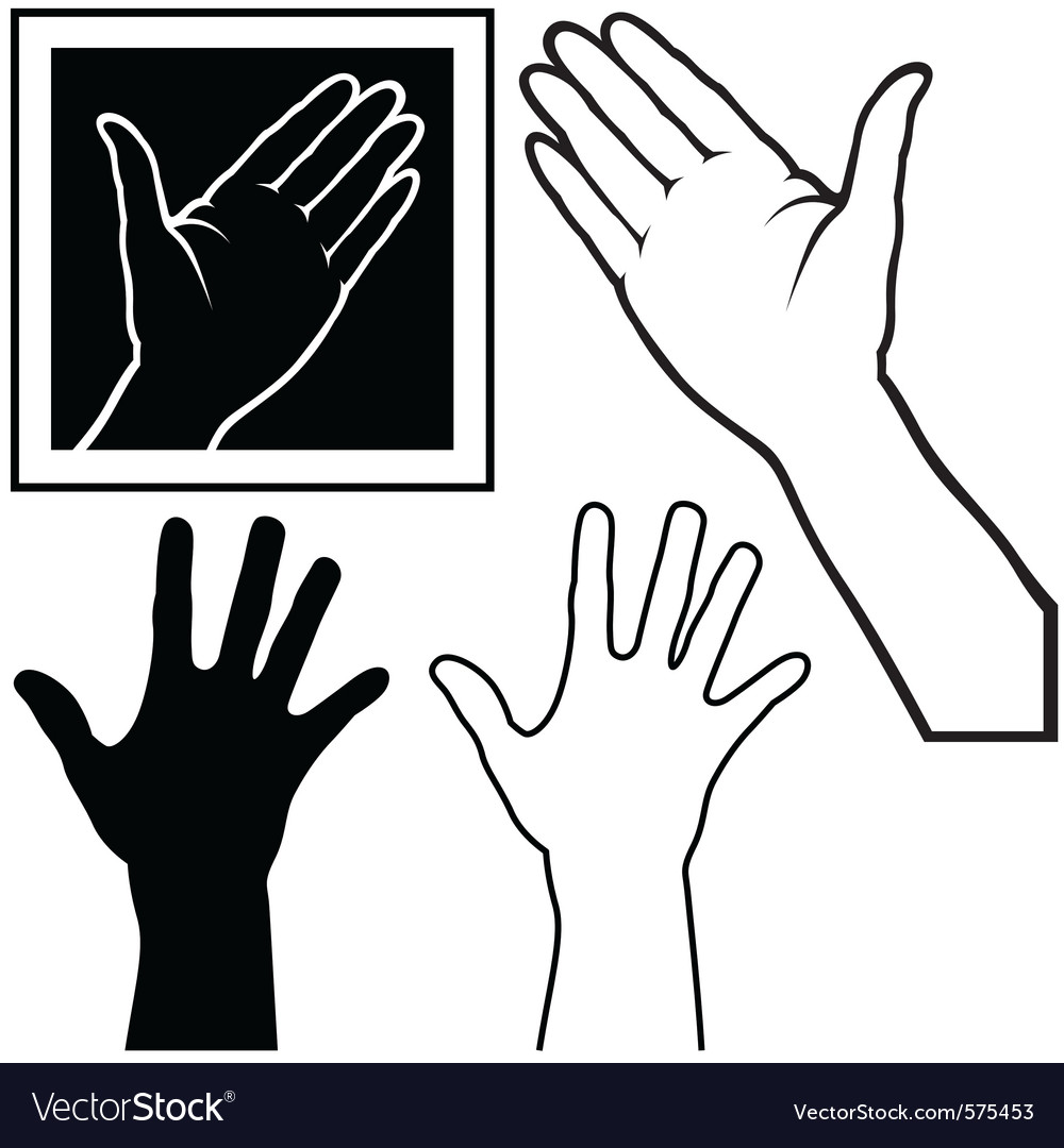 Hand vector | Price: 1 Credit (USD $1)
