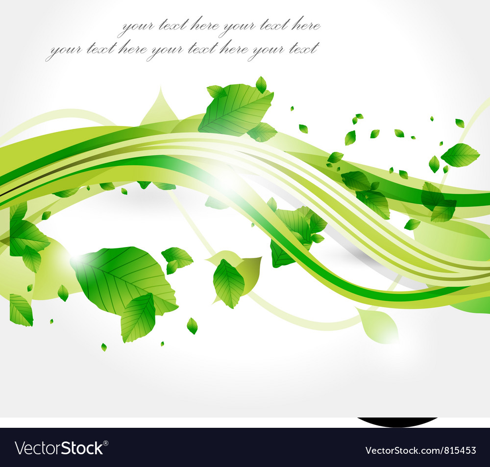 Leaf background series vector