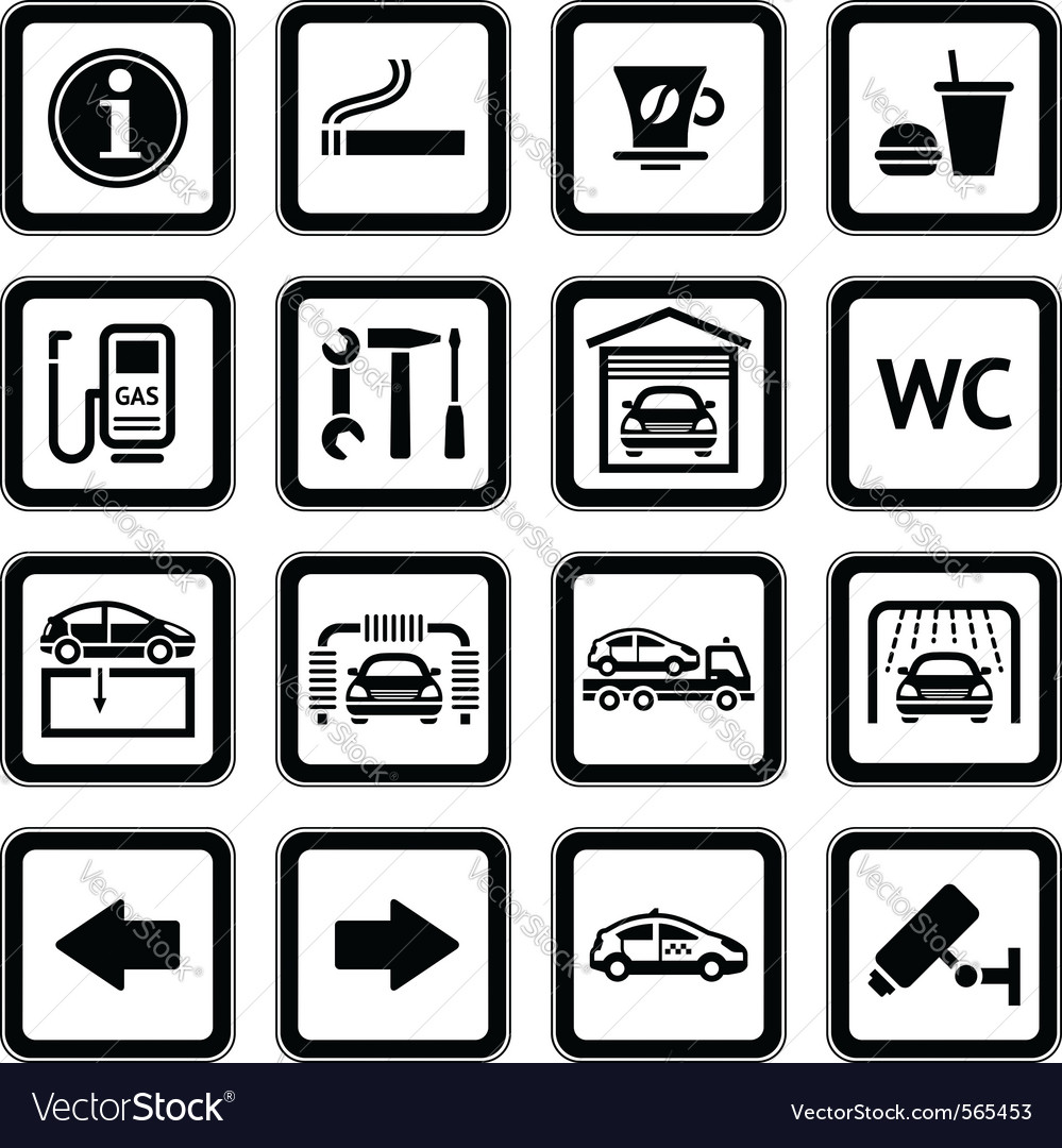 Service picograms vector | Price: 1 Credit (USD $1)