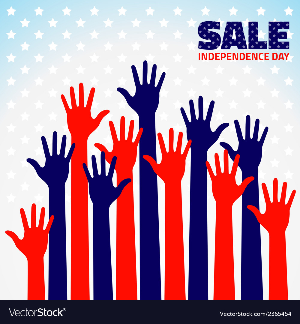 American independence day sale for your design vector | Price: 1 Credit (USD $1)