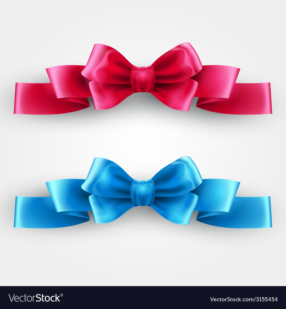 Blue and pink holiday ribbon vector   Price: 1 Credit (USD $1)