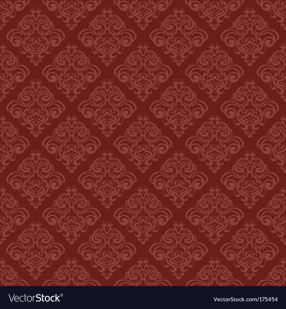 Damask wallpaper vector | Price: 1 Credit (USD $1)