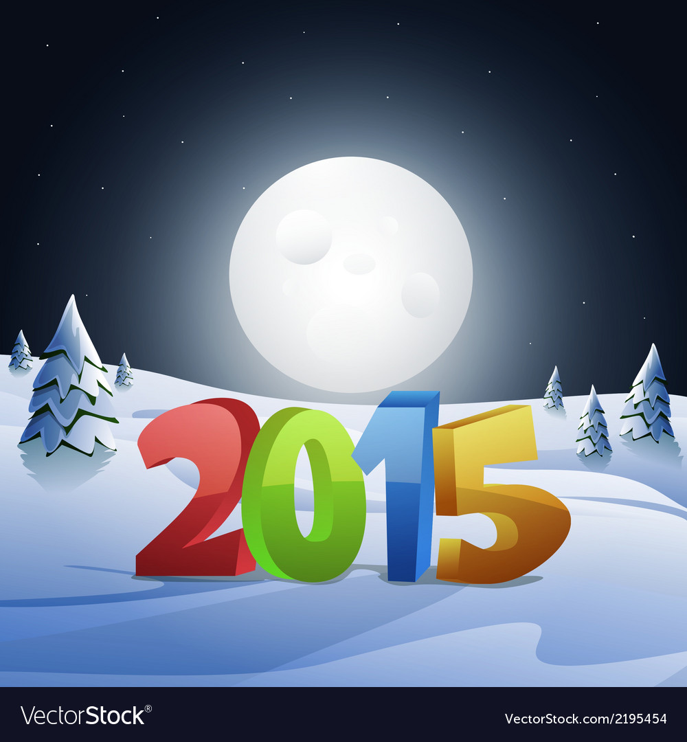 Happy new year 2015 vector | Price: 3 Credit (USD $3)
