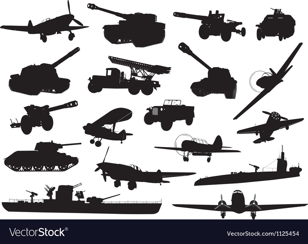 Military ww2 vector | Price: 1 Credit (USD $1)