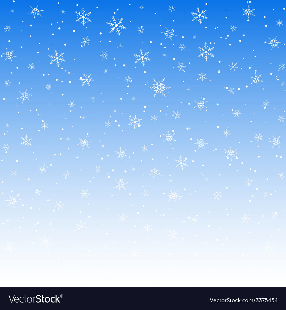 White snowflakes pattern vector | Price: 1 Credit (USD $1)