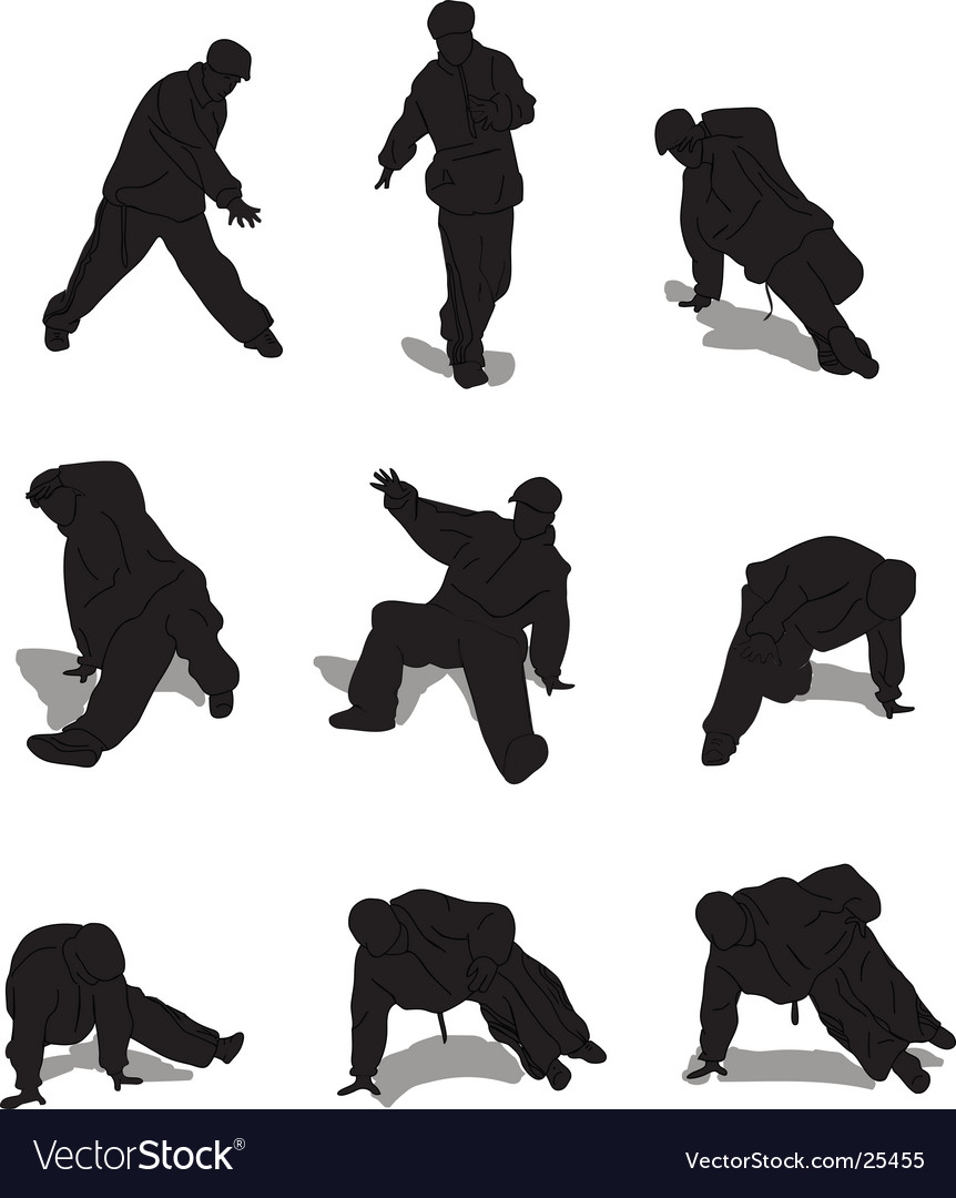 Breakdance vector | Price: 1 Credit (USD $1)