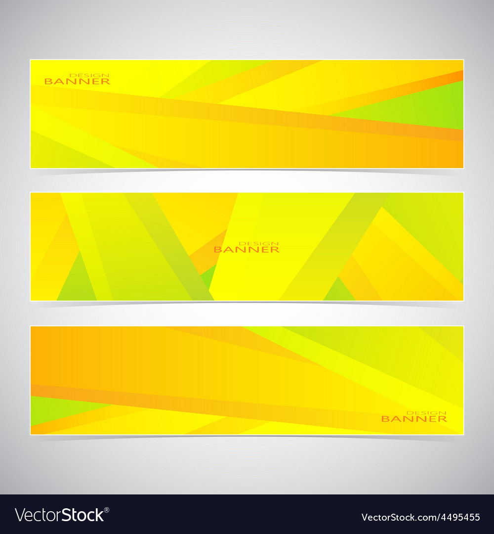 Collection of the 3 colorful web banners  can be vector | Price: 1 Credit (USD $1)