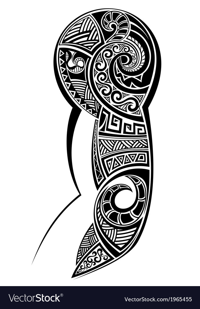 Tattoo designed for a shoulder vector | Price: 1 Credit (USD $1)
