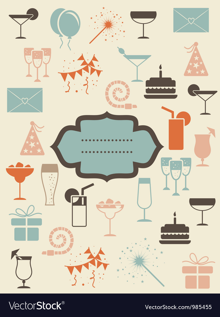 Vintage restaurant poster vector | Price: 1 Credit (USD $1)