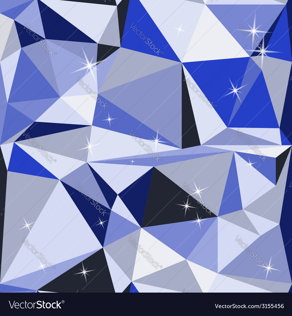 Blue abstract background polygon vector | Price: 1 Credit (USD $1)