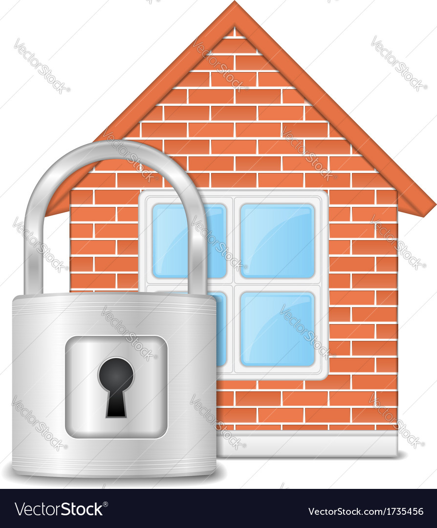 House security vector | Price: 1 Credit (USD $1)