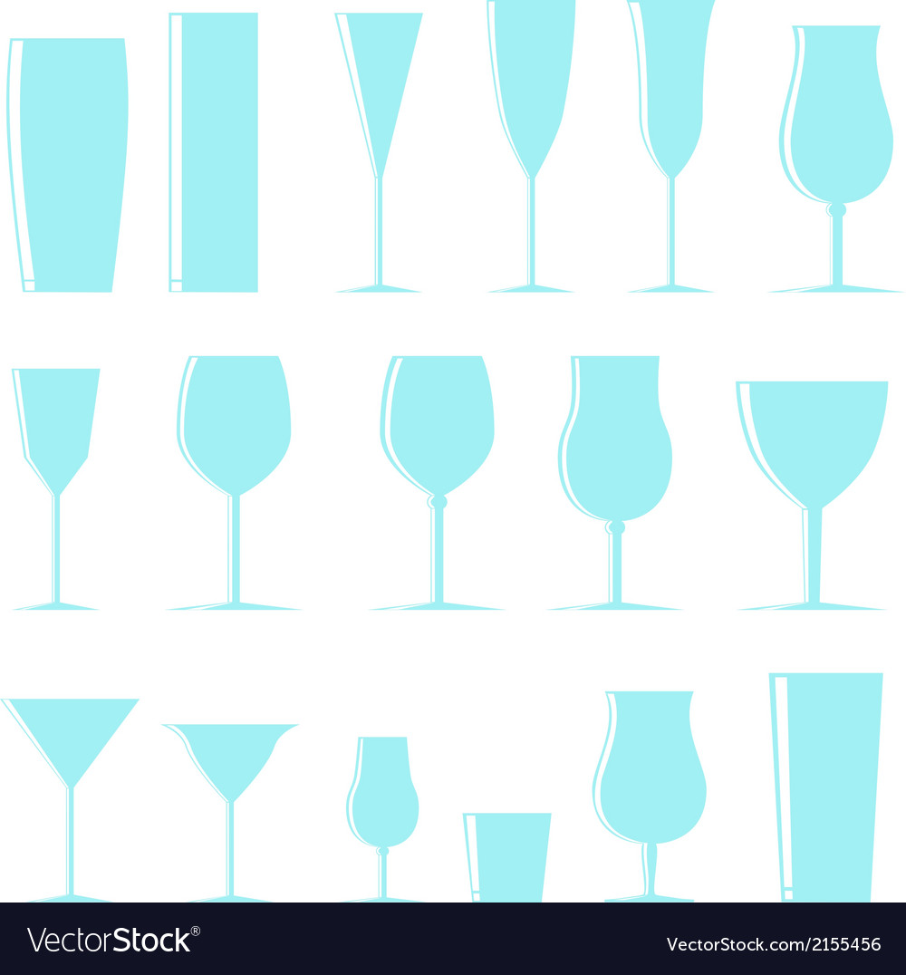 Shining glasses vector | Price: 1 Credit (USD $1)