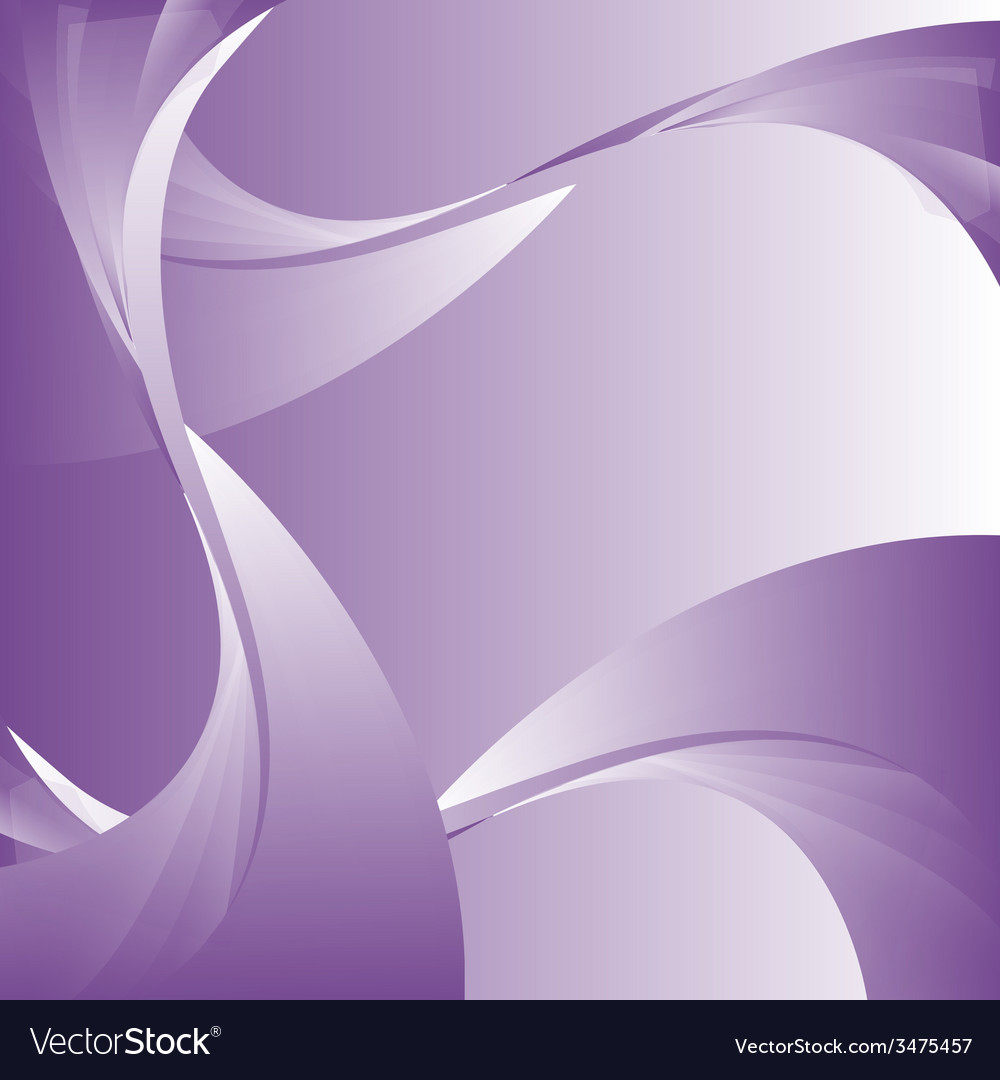 Abstract curve purple background vector | Price: 1 Credit (USD $1)