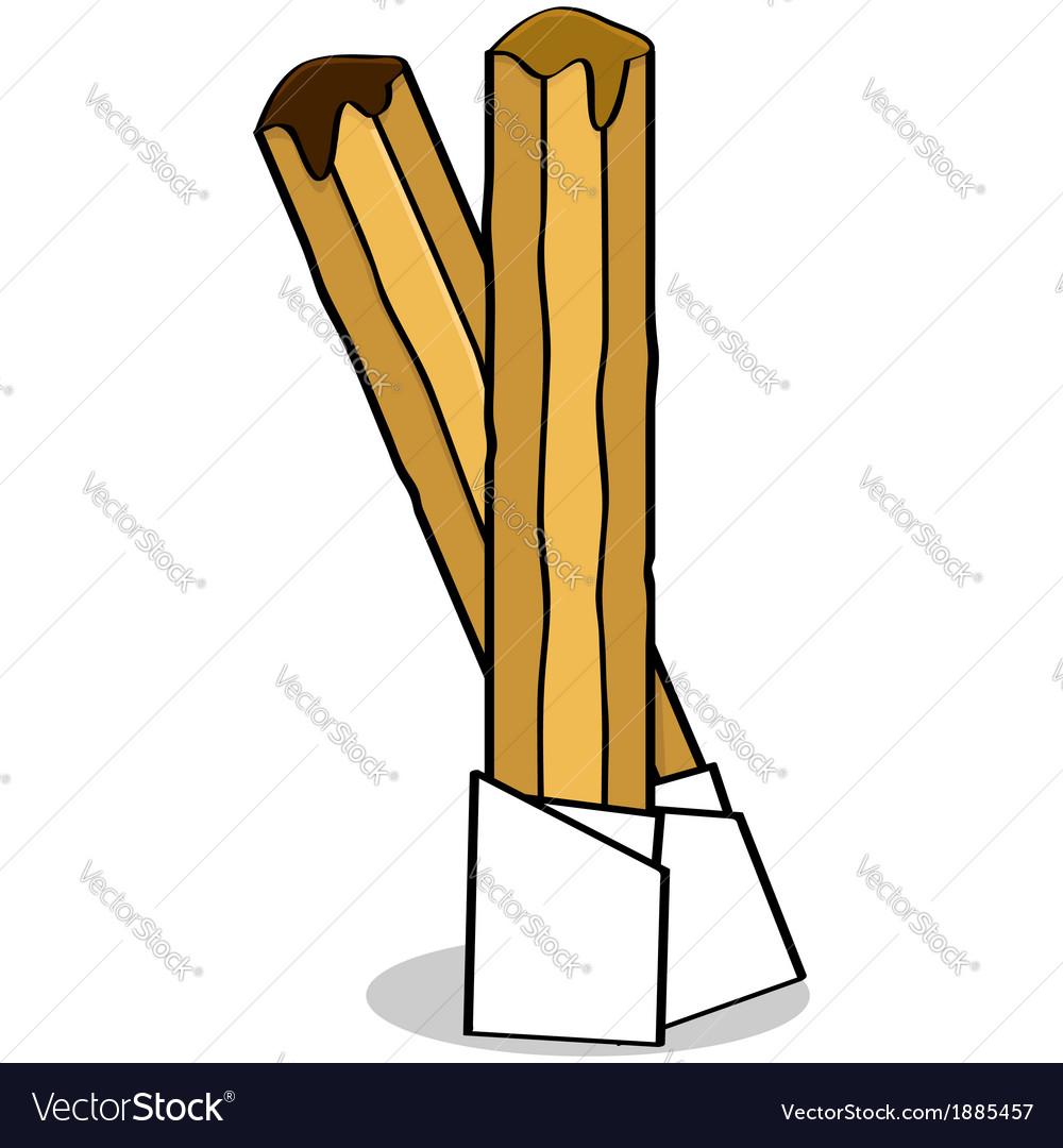 Churros vector | Price: 1 Credit (USD $1)