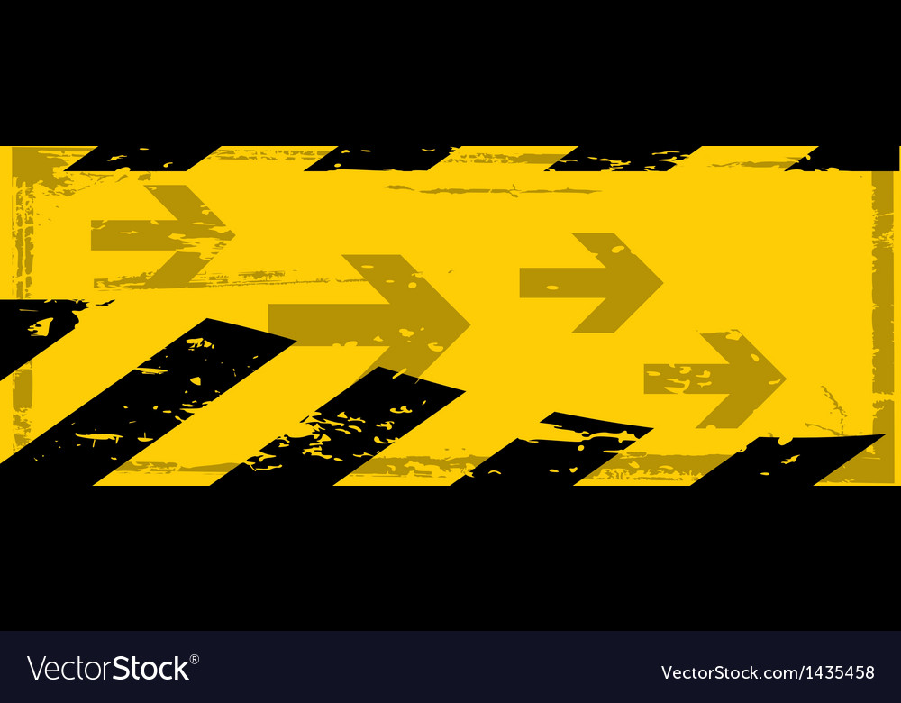 Grunge danger banner vector | Price: 1 Credit (USD $1)