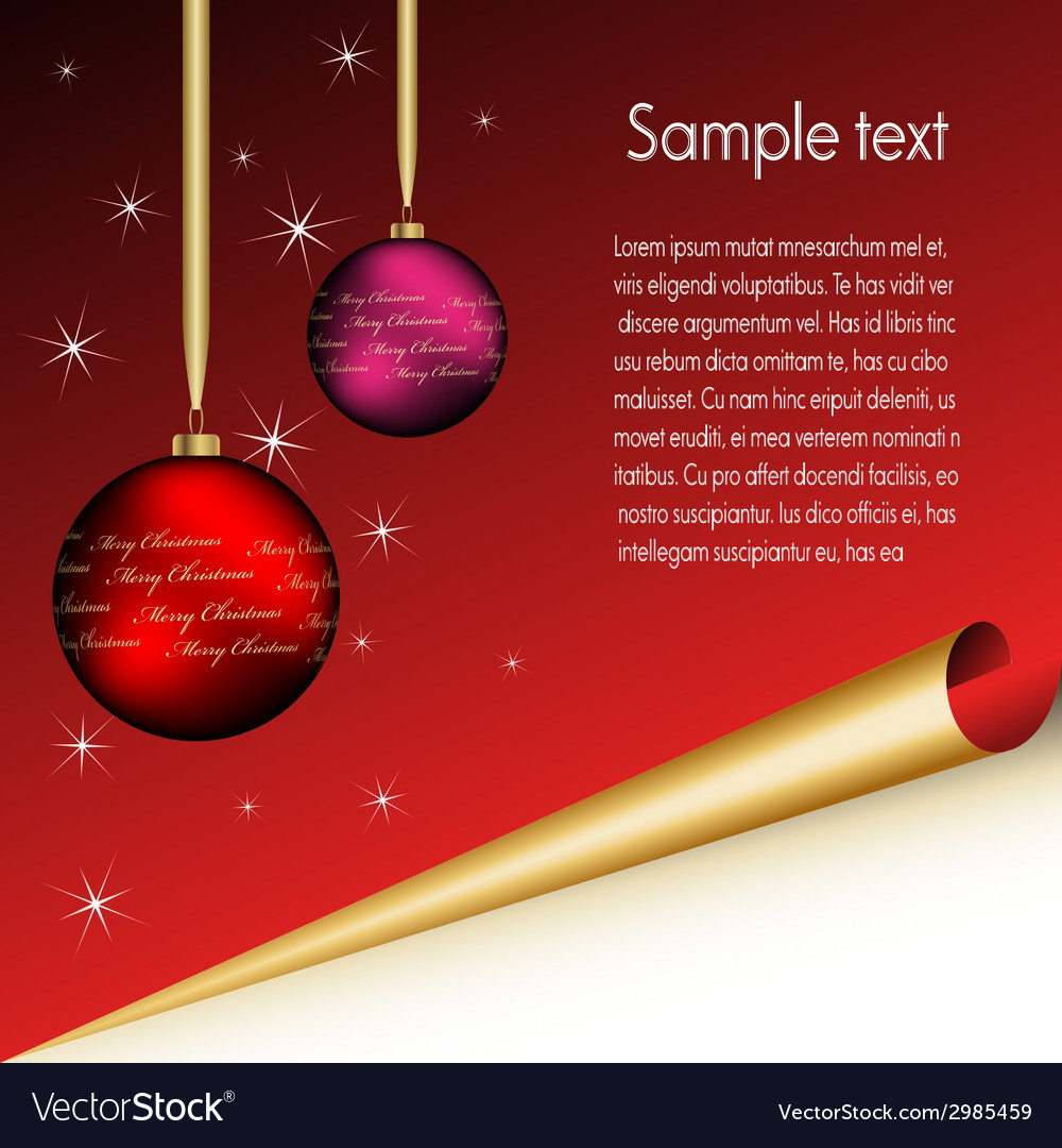 Christmas sheet vector | Price: 1 Credit (USD $1)