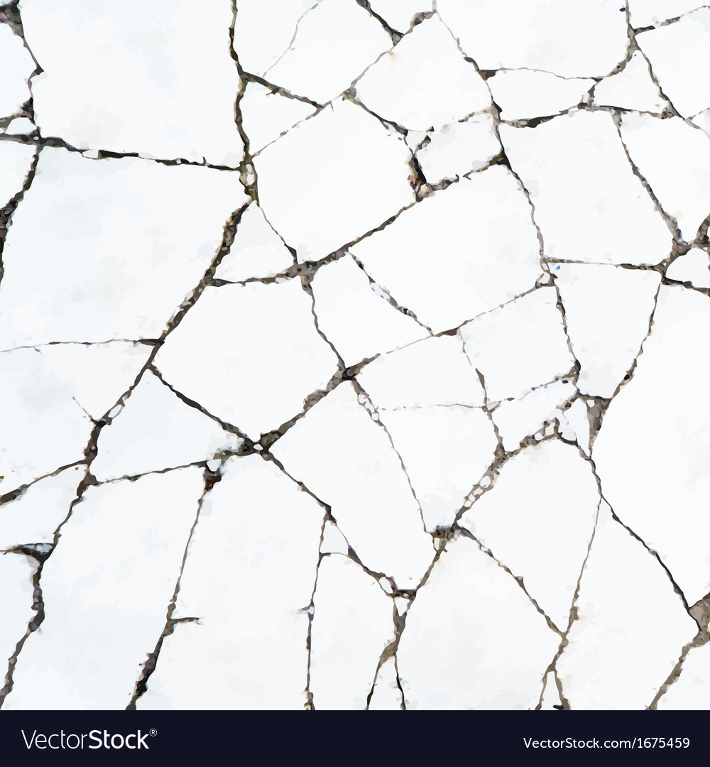 Cracks in the stone surface backgruond vector | Price: 1 Credit (USD $1)