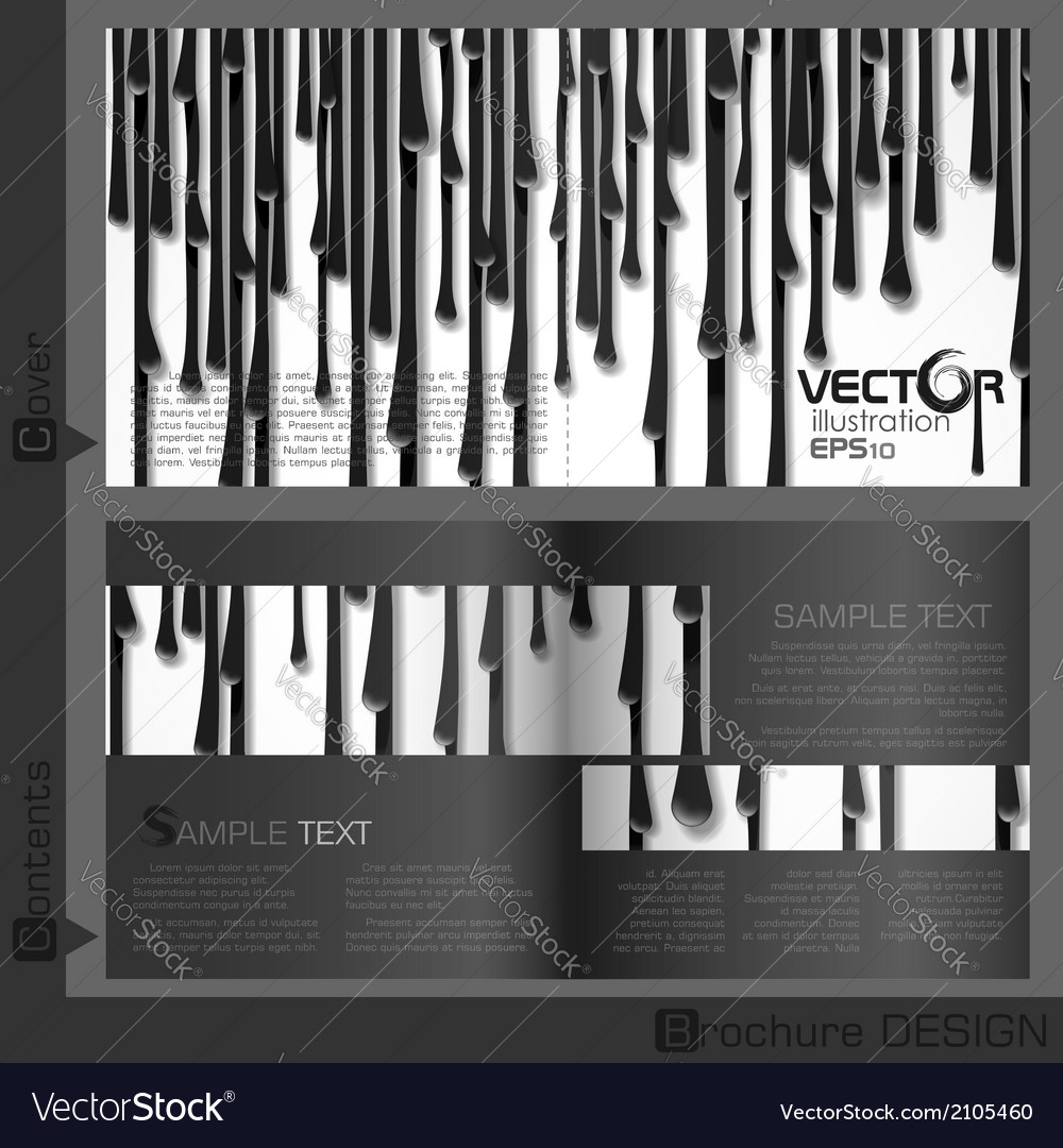 Brochure template design vector   Price: 1 Credit (USD $1)