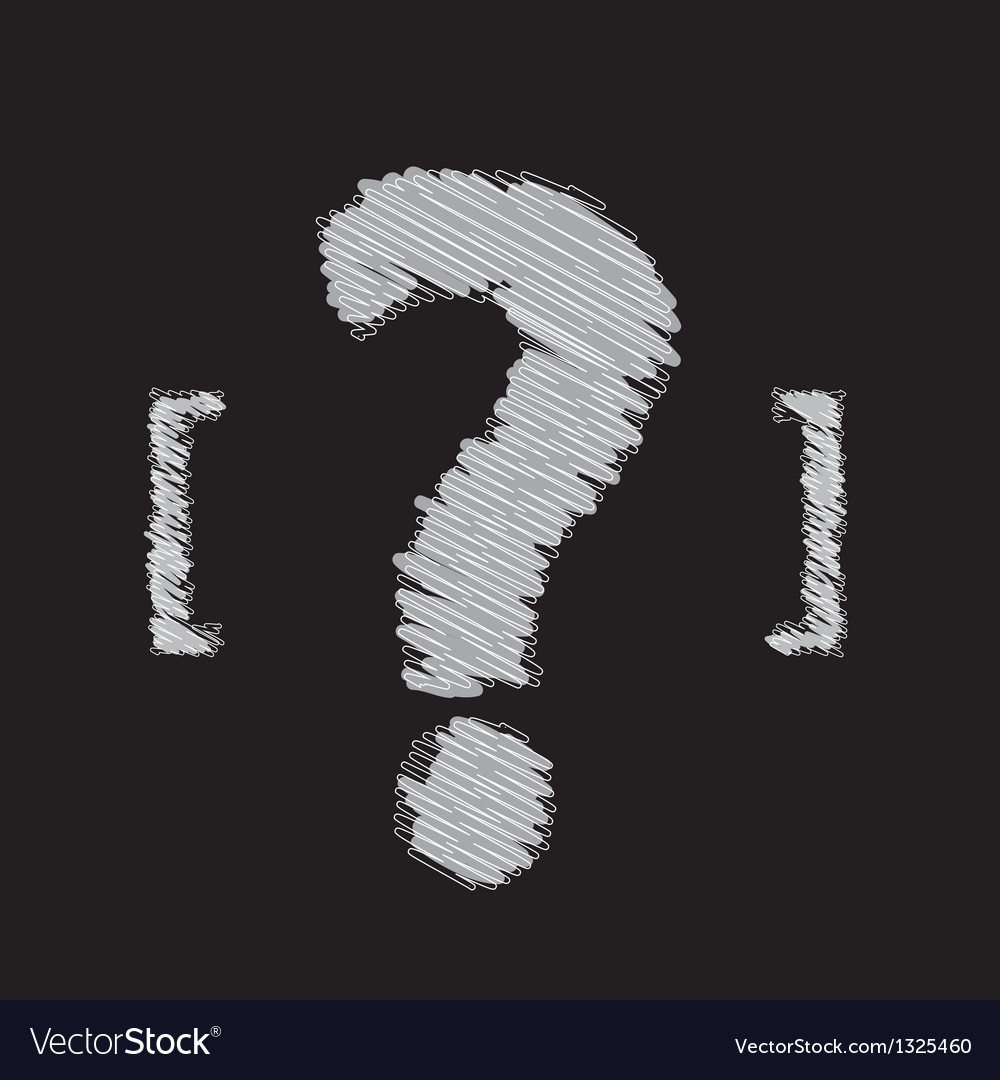 Question mark symbol design vector | Price: 1 Credit (USD $1)