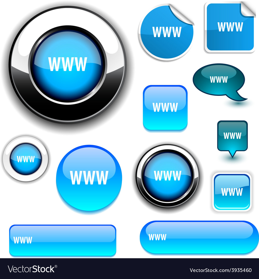 Www signs vector | Price: 1 Credit (USD $1)