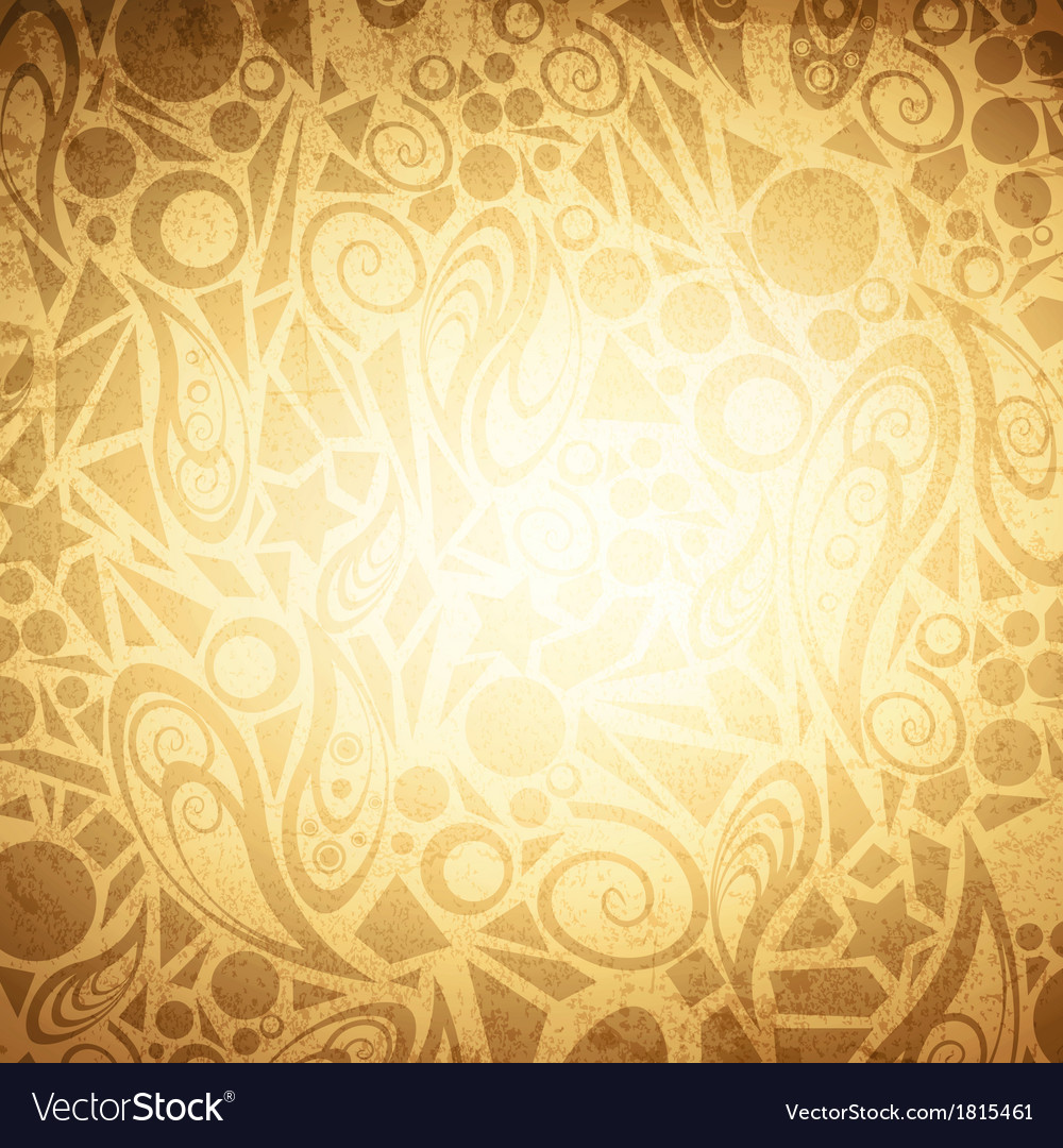 Abstract vintage background vector | Price: 1 Credit (USD $1)