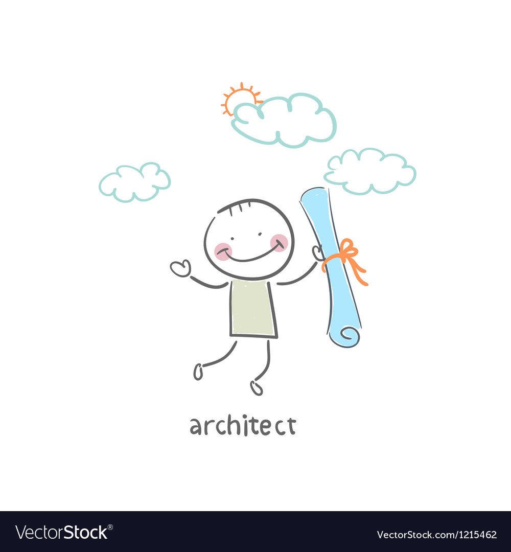 Architect vector | Price: 1 Credit (USD $1)