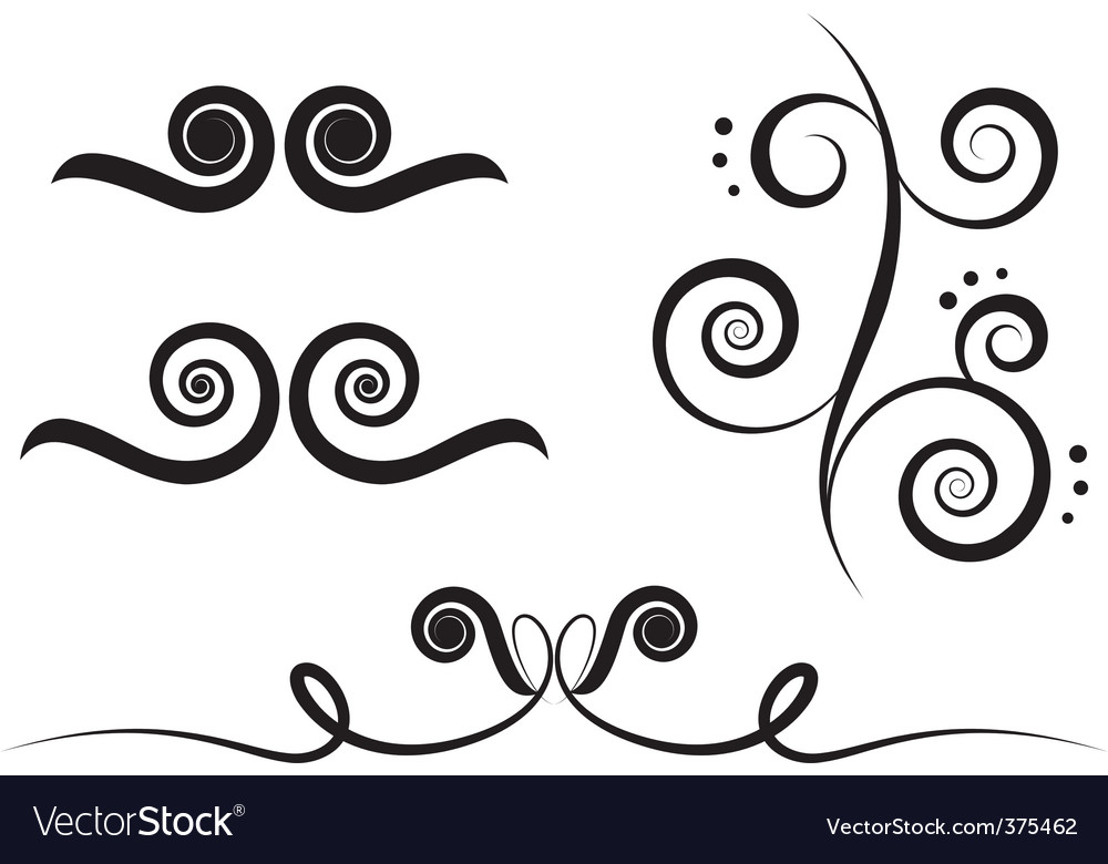 Art swirl vector | Price: 1 Credit (USD $1)