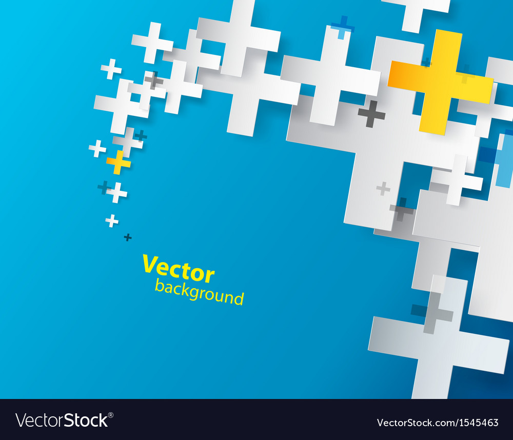 Abstract background created with plus sign vector   Price: 1 Credit (USD $1)