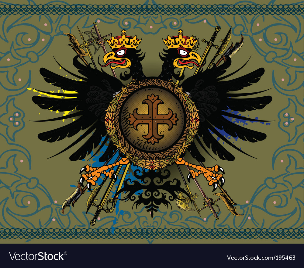 Eagle coat of arms vector   Price: 1 Credit (USD $1)