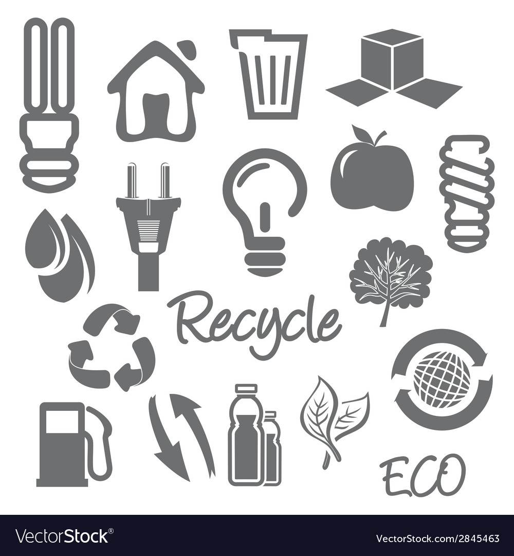 Eco ikone2 resize vector | Price: 1 Credit (USD $1)