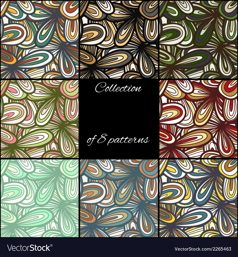 Seamless abstract hand-drawn texture vector | Price: 1 Credit (USD $1)