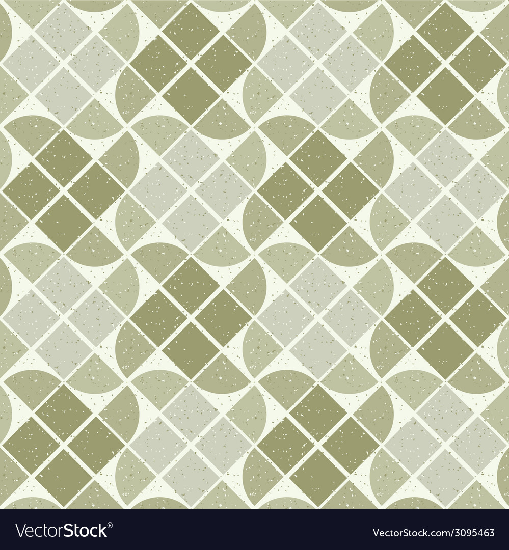 Vintage textured tiles seamless background with vector | Price: 1 Credit (USD $1)