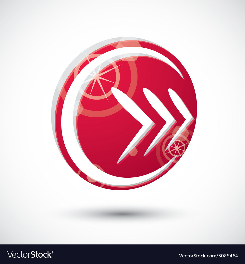 Arrow icon abstract icon 3d symbol vector   Price: 1 Credit (USD $1)