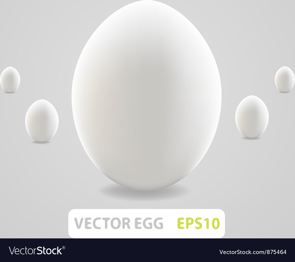 Brown egg concept vector | Price: 1 Credit (USD $1)