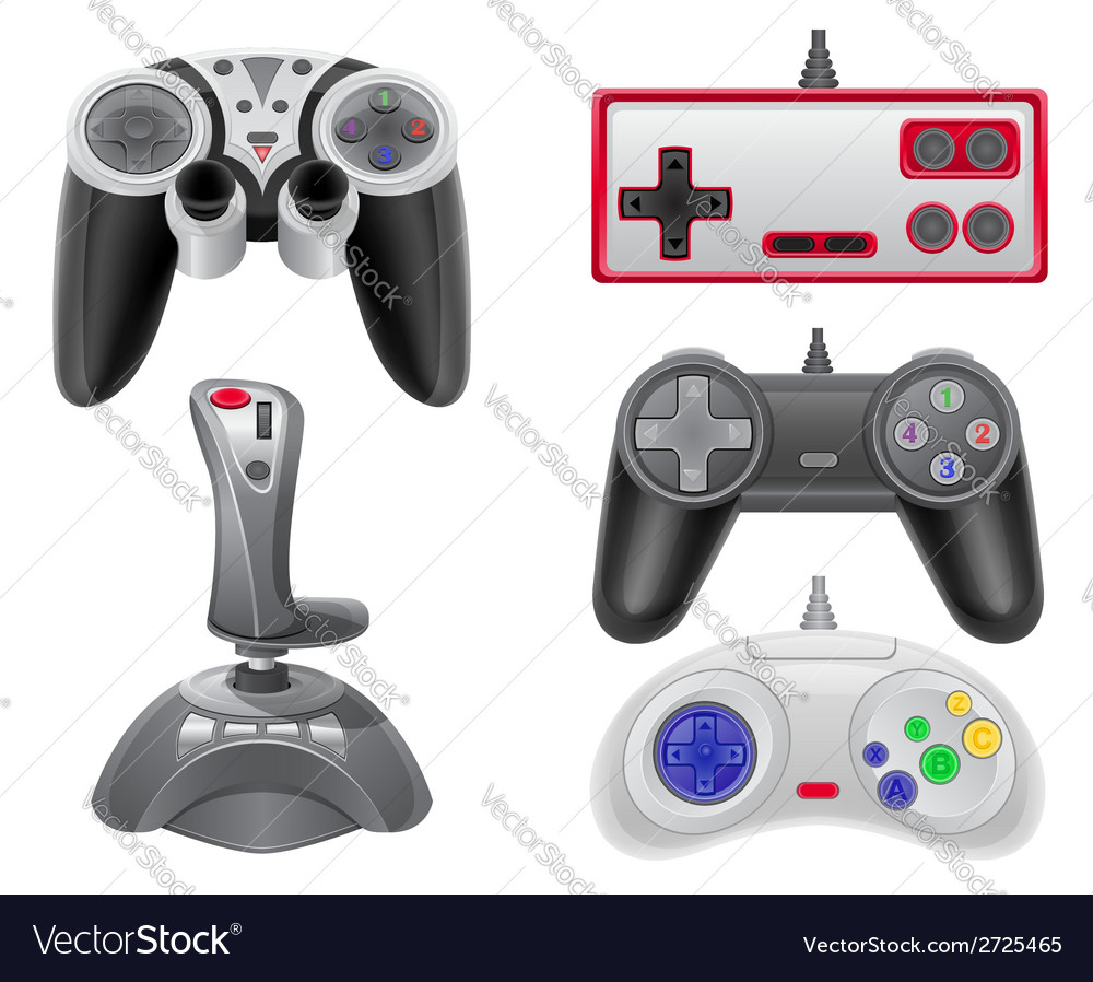 Joystick 08 vector | Price: 1 Credit (USD $1)