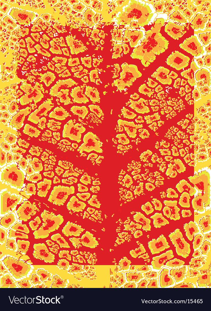 Leaf pattern vector | Price: 1 Credit (USD $1)