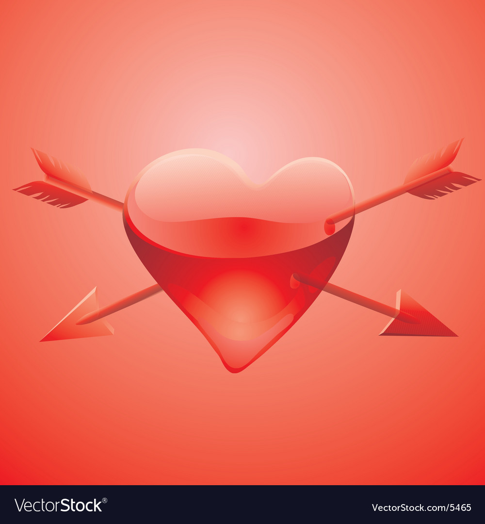 Wounded heart vector | Price: 1 Credit (USD $1)