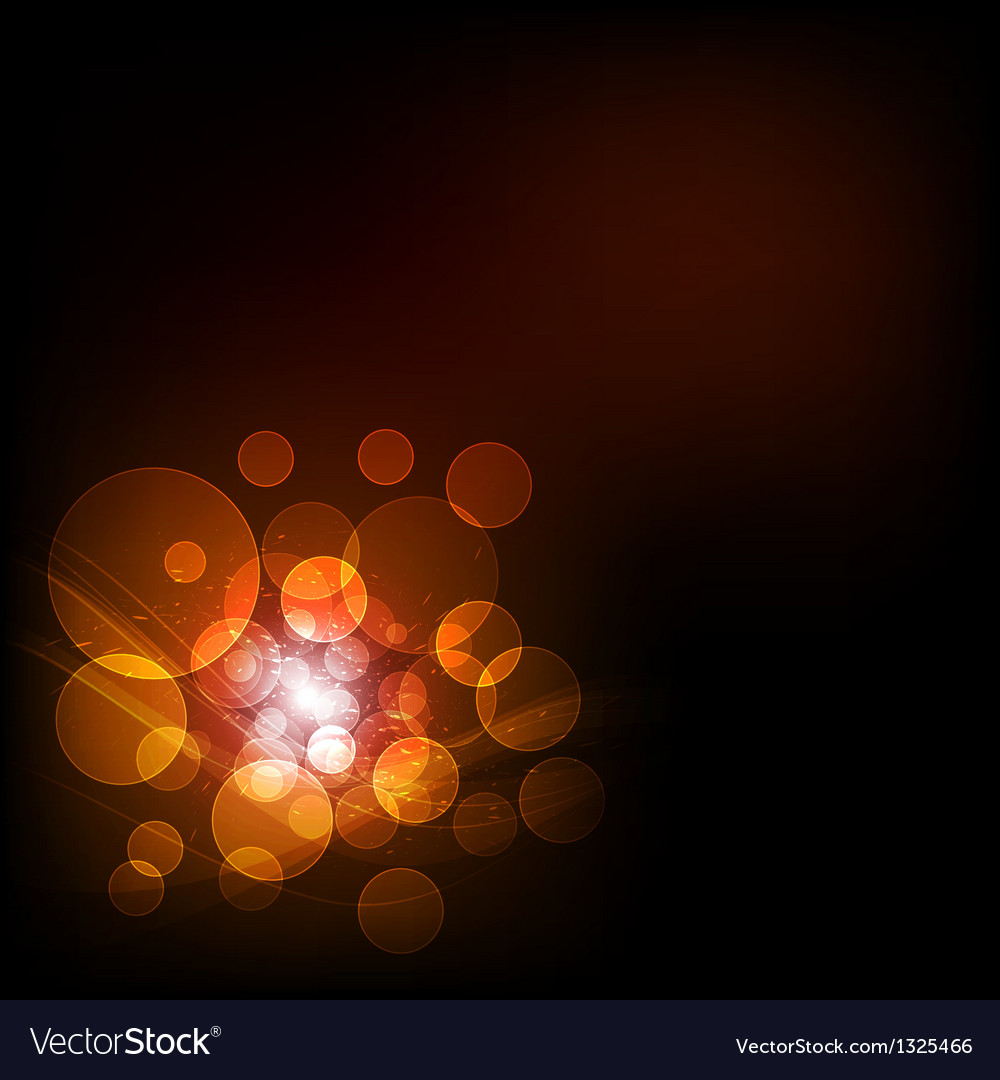 Abstract bokeh background vector   Price: 1 Credit (USD $1)