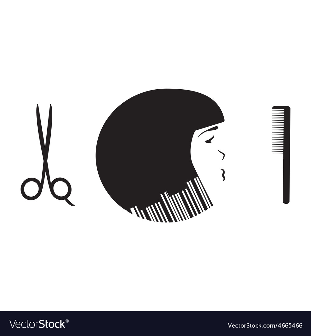 Beauty salon logo template vector   Price: 1 Credit (USD $1)