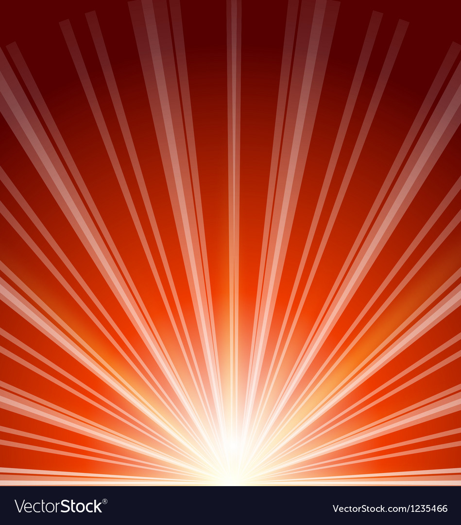 Lens flare with sunlight abstract background vector | Price: 1 Credit (USD $1)