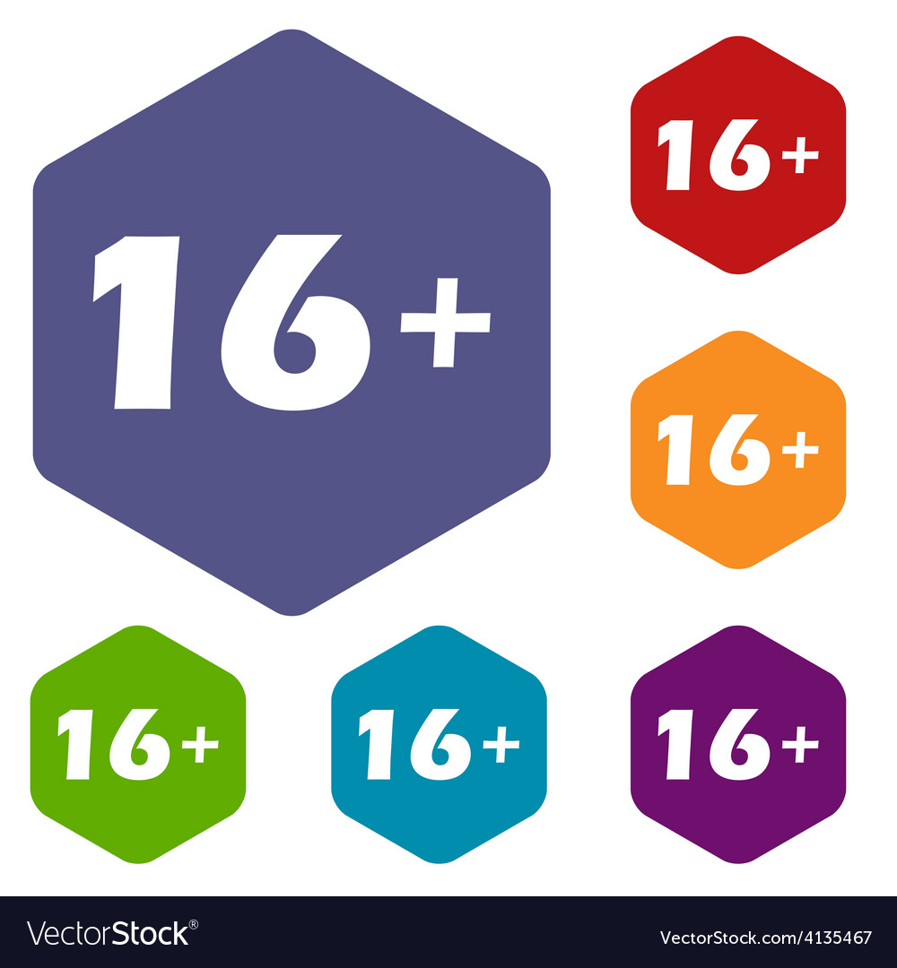 Age rhombus icons vector   Price: 1 Credit (USD $1)