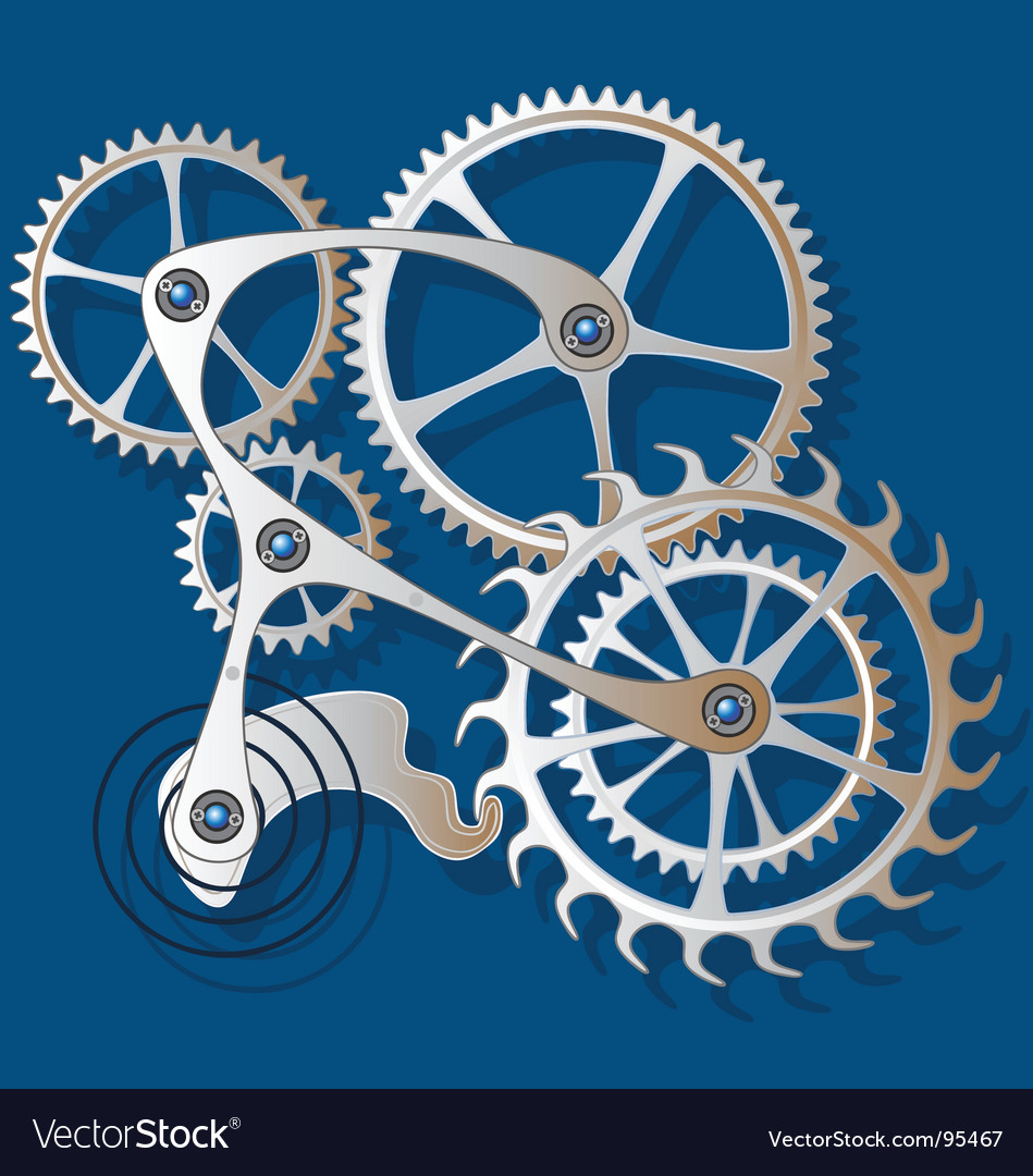Cogs and gears vector | Price: 1 Credit (USD $1)