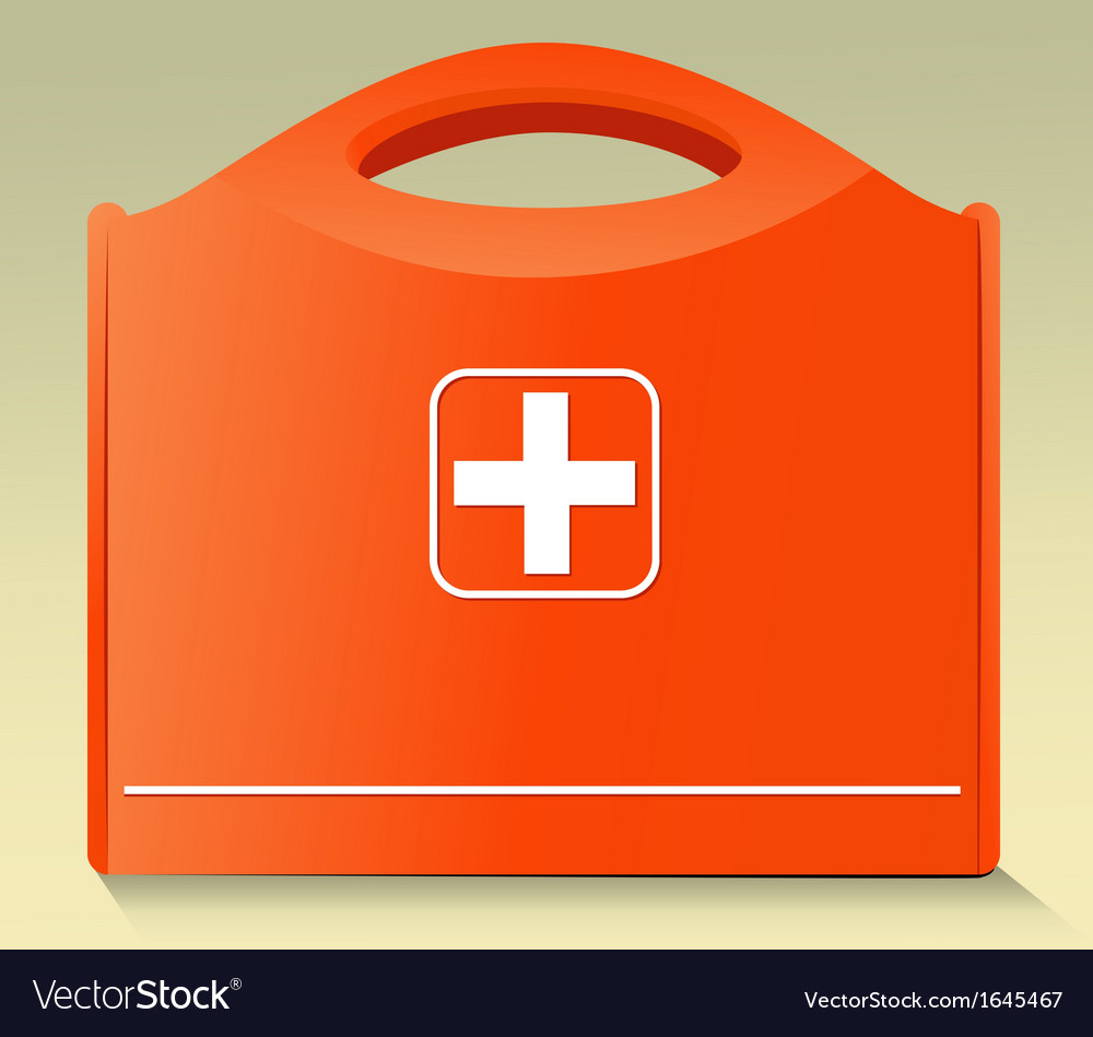 First aid kit vector | Price: 1 Credit (USD $1)
