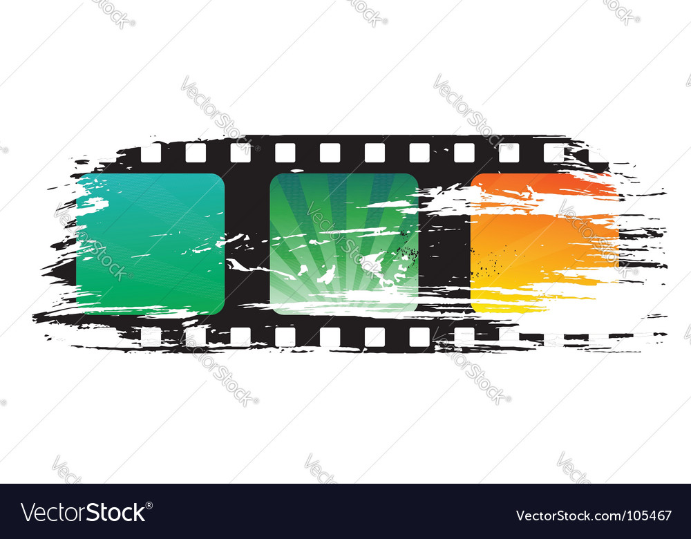 Grunge film vector | Price: 1 Credit (USD $1)
