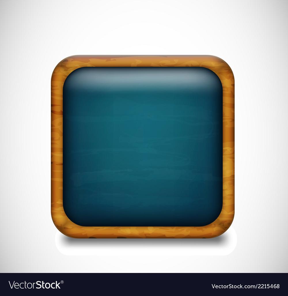 Blue app icon vector | Price: 1 Credit (USD $1)